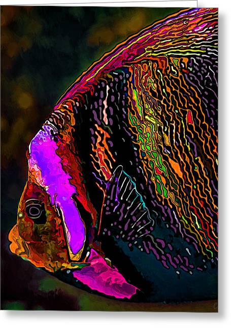 Sea Life Digital Art Greeting Cards - Angel Face 2 Greeting Card by Bill Caldwell -        ABeautifulSky Photography