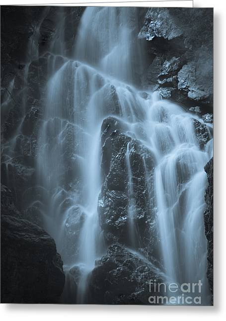 Maine Greeting Cards - Angel Falls Greeting Card by Alana Ranney