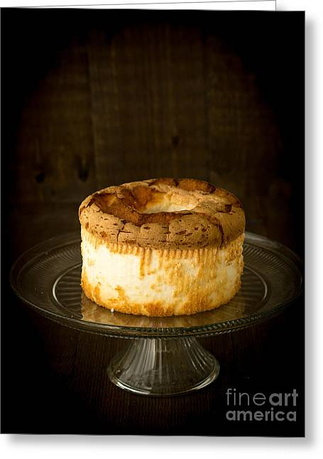Temptation Greeting Cards - Angel Food Cake Greeting Card by Edward Fielding