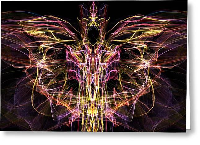 Purchase Digital Art Greeting Cards - Angel of Death Greeting Card by Lilia D
