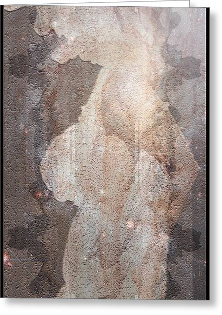 Angel With Star Greeting Cards - Angel of Light Greeting Card by Deprise Brescia
