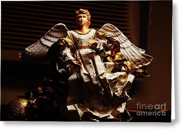 Angel Of Peace Greeting Cards - Angel of Peace Greeting Card by Craig Wood