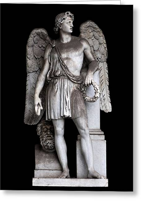 Pace Greeting Cards - Angel of peace Greeting Card by Fabrizio Troiani