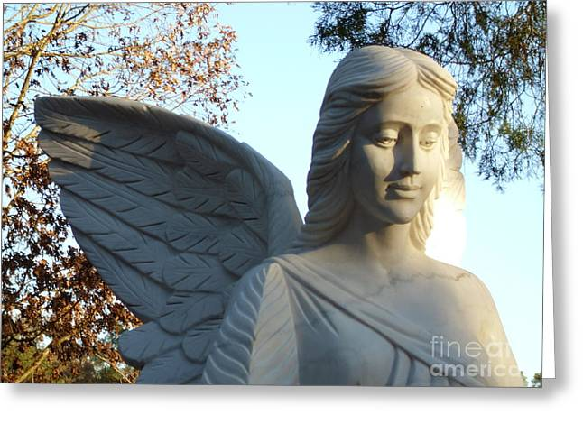 Kevin Croitz Greeting Cards - Angel of the Morning Greeting Card by Kevin Croitz