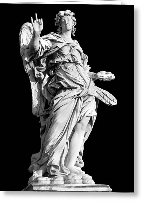 Religious Still Life Greeting Cards - Angel with the Nail Greeting Card by Fabrizio Troiani