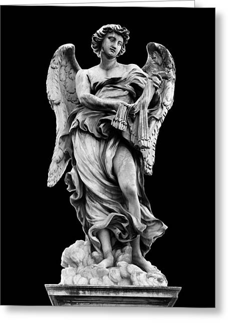 Religious Still Life Greeting Cards - Angel with the Whips  Greeting Card by Fabrizio Troiani