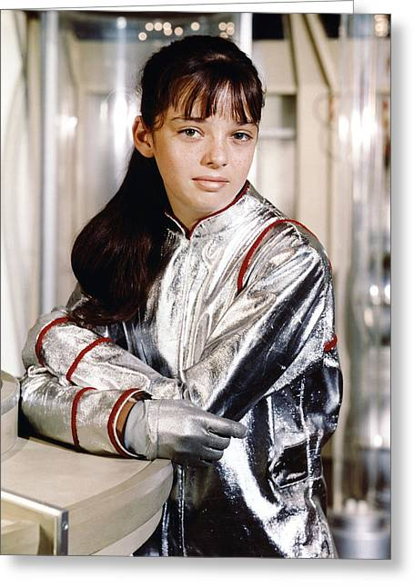 Lose Greeting Cards - Angela Cartwright in Lost in Space  Greeting Card by Silver Screen