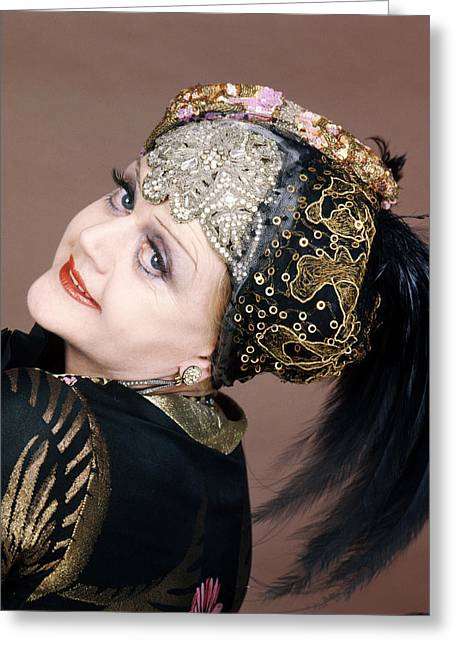 Lansbury Greeting Cards - Angela Lansbury in Death on the Nile  Greeting Card by Silver Screen