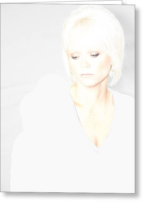 Over-exposed Greeting Cards - Angelic Beauty Greeting Card by Todd Noble