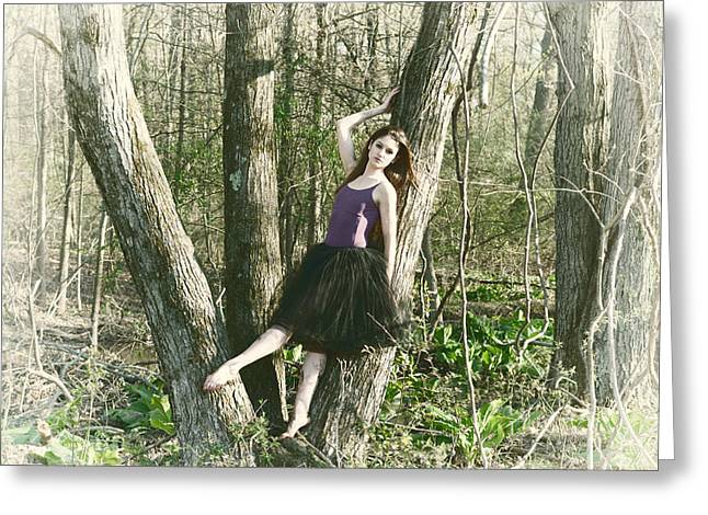 Ballet Dancers Photographs Greeting Cards - Angelic Greeting Card by Ryan Crane