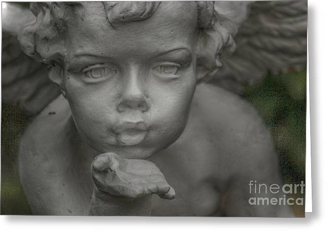 Angels Breath Greeting Cards - Angels breath Greeting Card by Four Hands Art