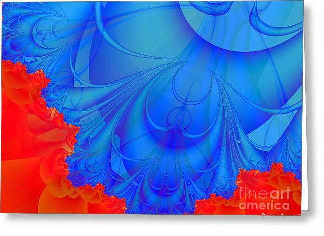 Dana Haynes Greeting Cards - Angels Or Demons Greeting Card by Dana Haynes