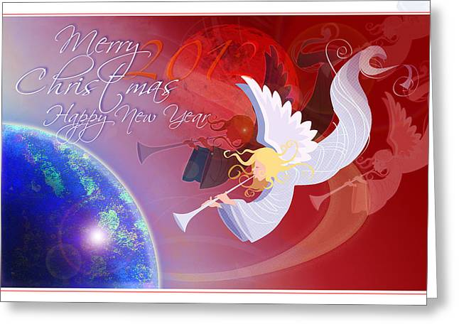 Angelus Greeting Card by Nato  Gomes
