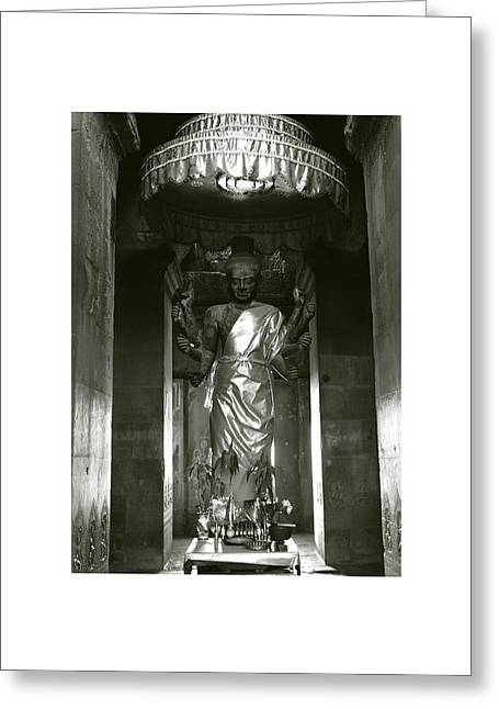 Temple Of Ta Prohm Greeting Cards - Angkor Wat II Greeting Card by Don Saunderson