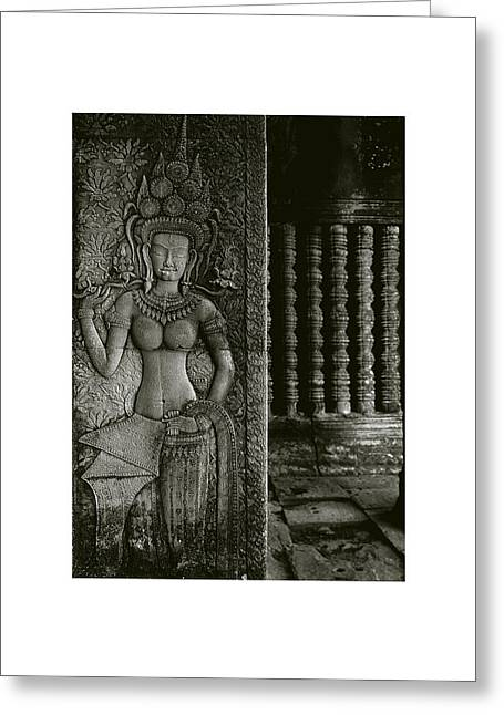 Temple Of Ta Prohm Greeting Cards - Angkor Wat IV Greeting Card by Don Saunderson