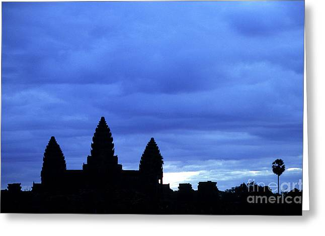 Indochine Greeting Cards - Angkor Wat Sunrise 01 Greeting Card by Rick Piper Photography
