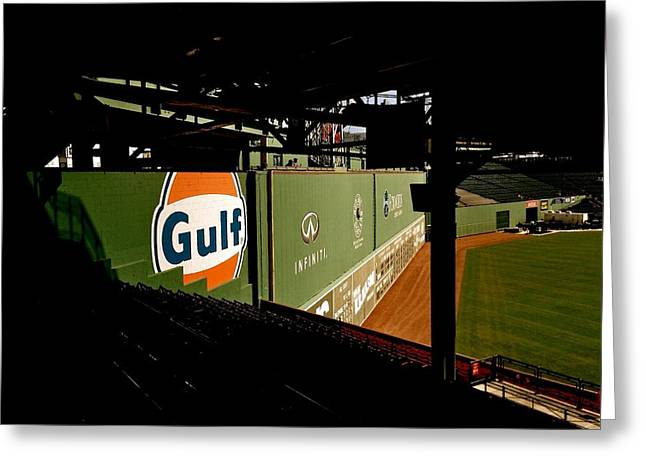 Main Street Greeting Cards - Angles Fenway Park  Greeting Card by Iconic Images Art Gallery David Pucciarelli