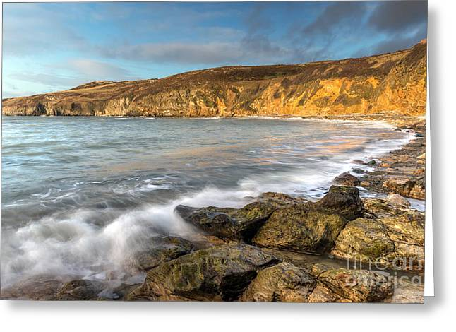 Anglesey Greeting Cards - Anglesey Bay Greeting Card by Adrian Evans