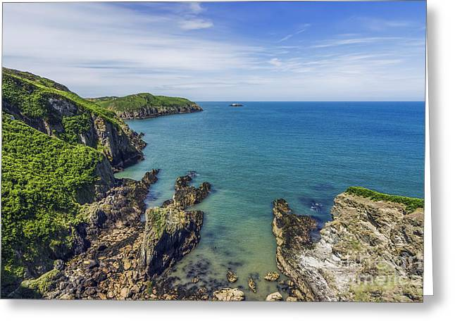 Beautiful Scenery Greeting Cards - Anglesey Coast Greeting Card by Ian Mitchell