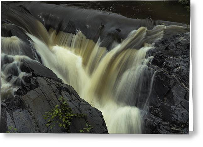 River Flooding Greeting Cards - Angry Whetstone Brook Greeting Card by Tom Singleton