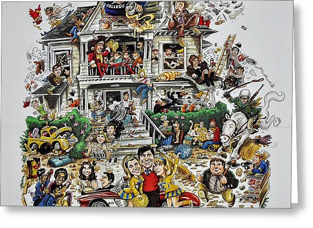 Animal House  Greeting Card by Movie Poster Prints
