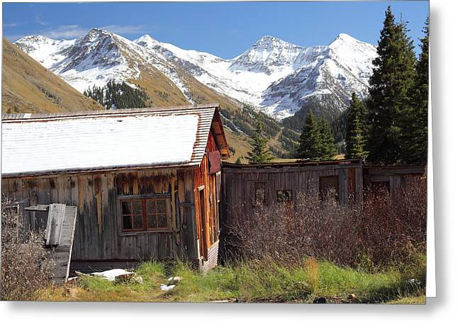 West Fork Greeting Cards - Animas Forks Greeting Card by Eric Glaser