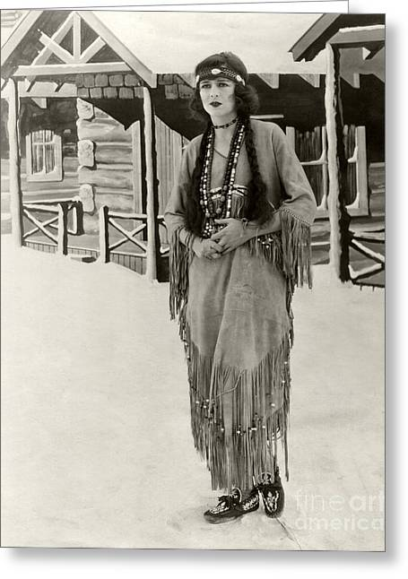 Lost Princess Greeting Cards - Anita Stewart 1925 Greeting Card by Sad Hill Archive