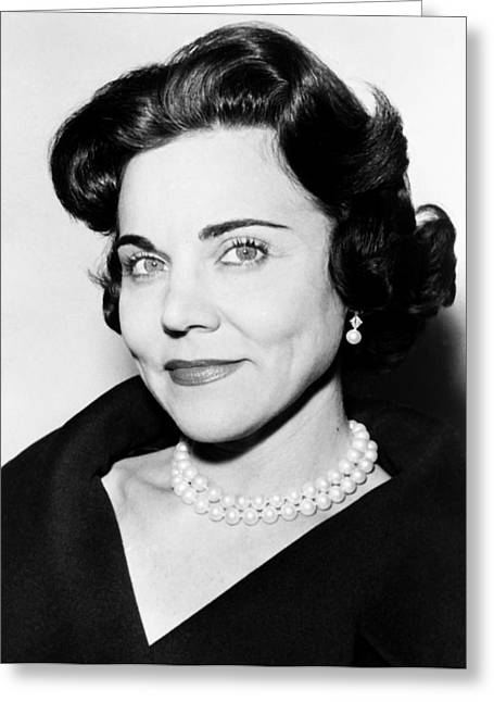 Columnist Greeting Cards - Ann Landers 1969 Greeting Card by Mountain Dreams