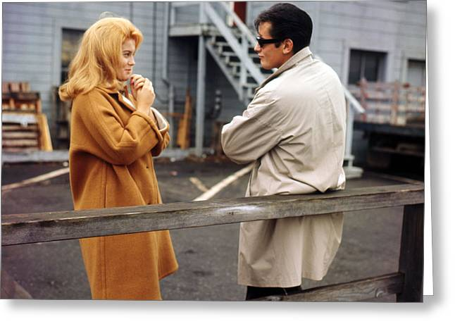 Thief Greeting Cards - Ann-Margret in Once a Thief  Greeting Card by Silver Screen