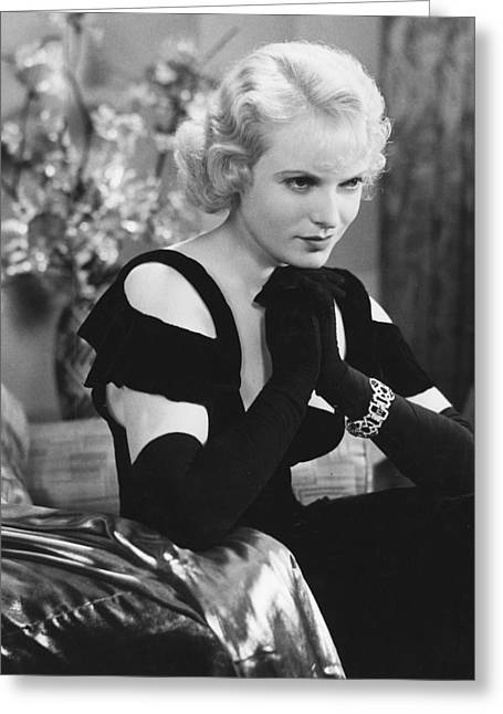 Anna Greeting Cards - Anna Neagle Greeting Card by Silver Screen