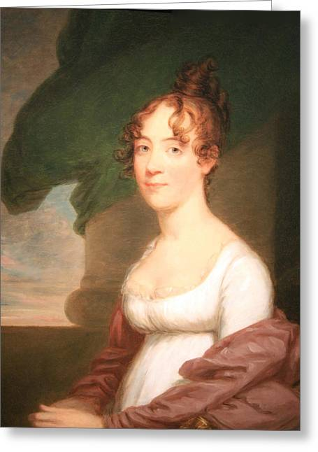 Dolley Greeting Cards - Anna Payne Cutts -- Dolley Madisons Sister Greeting Card by Cora Wandel