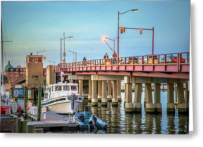 Annapolis 6th St Bridge Greeting Card by Brian Wallace