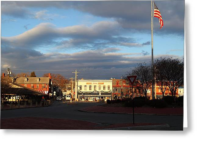 Striped Greeting Cards - Annapolis MD - 01131 Greeting Card by DC Photographer