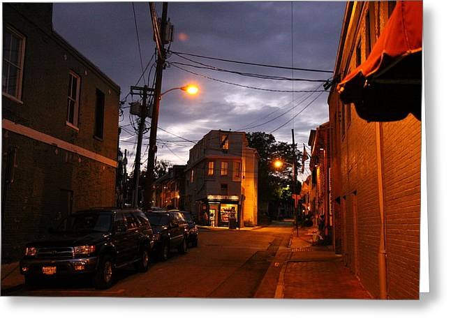 Annapolis Greeting Cards - Annapolis MD - 121214 Greeting Card by DC Photographer