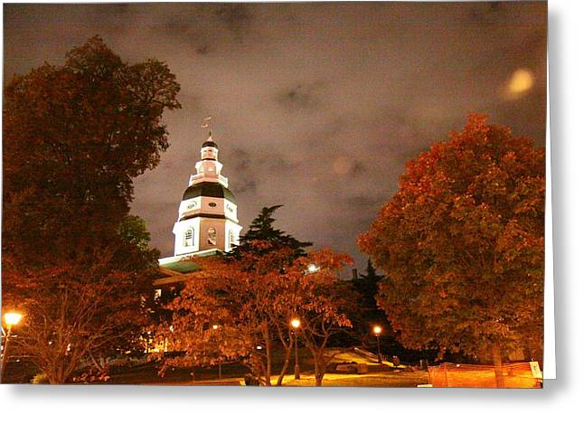 Annapolis Greeting Cards - Annapolis MD - 121229 Greeting Card by DC Photographer