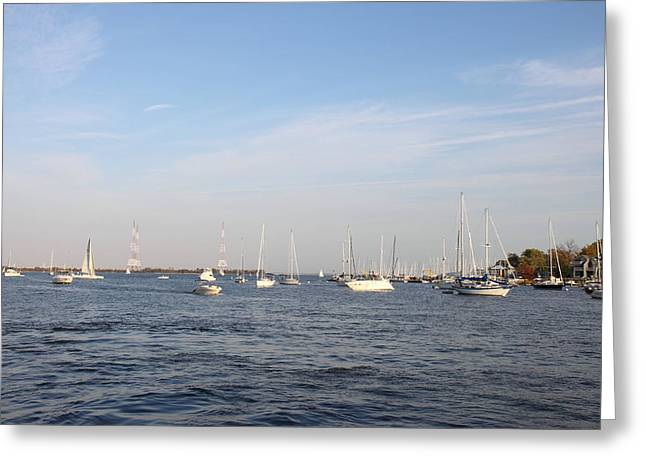 Md Photographs Greeting Cards - Annapolis MD - 121244 Greeting Card by DC Photographer