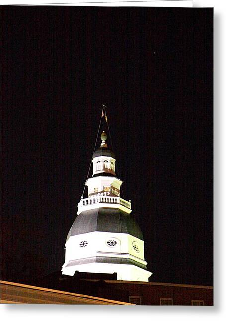Md Greeting Cards - Annapolis MD - 121261 Greeting Card by DC Photographer