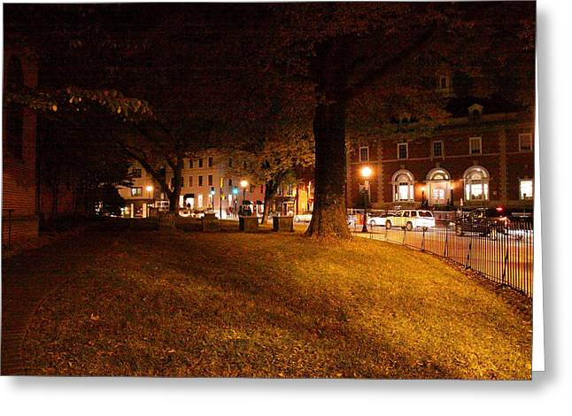 Annapolis Md - 121266 Greeting Card by DC Photographer