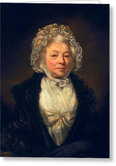 Elderly Female Greeting Cards - Anne King, 1789 Greeting Card by James Northcote
