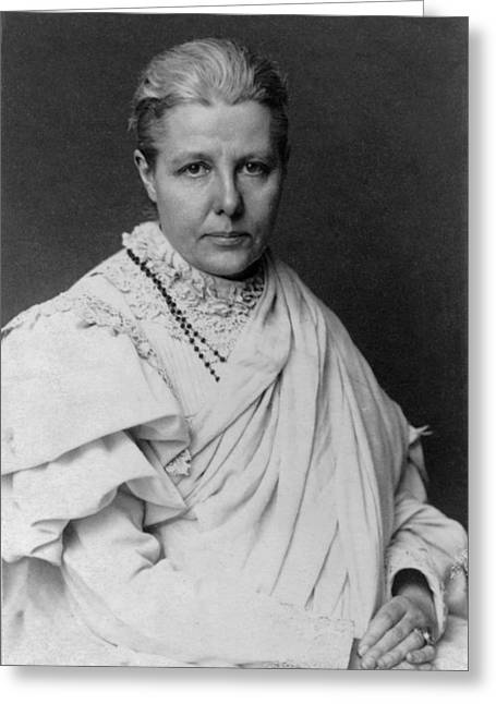 Bravery Greeting Cards - Annie Besant Greeting Card by Celestial Images