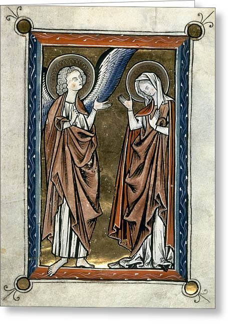 Annunciation Greeting Card by Granger