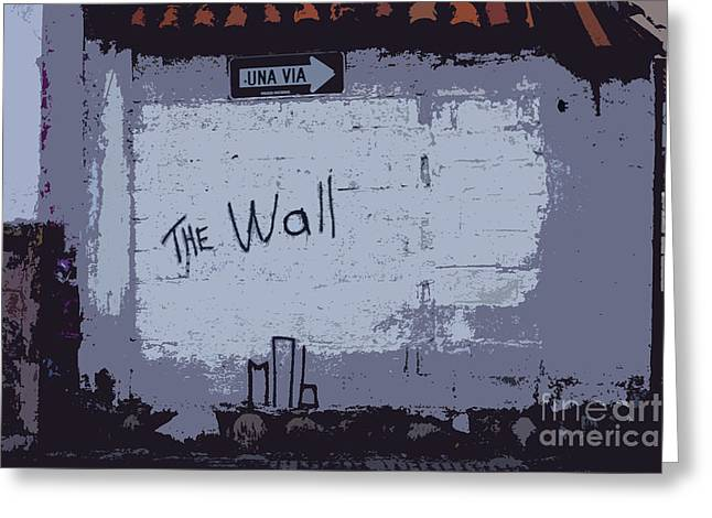 Slam Photographs Greeting Cards - Another Brick In ..... Greeting Card by Al Bourassa