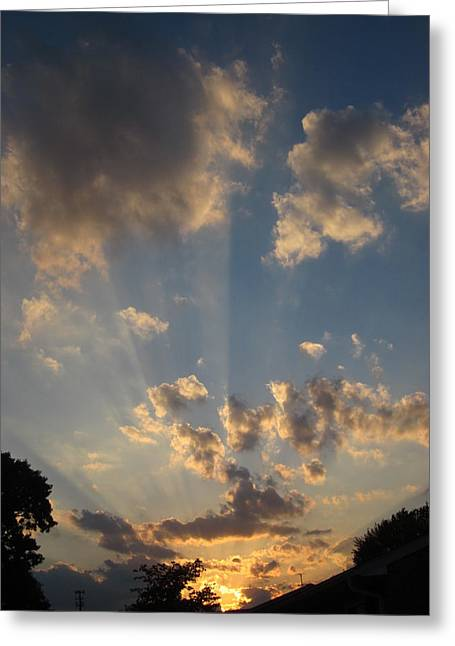 Guy Ricketts Photography Greeting Cards - Another Day Says Farewell Greeting Card by Guy Ricketts