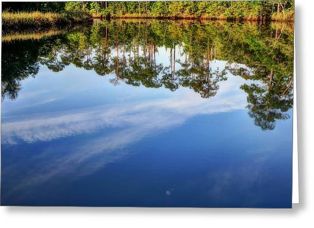 Florida Panhandle Greeting Cards - Another East River Greeting Card by JC Findley
