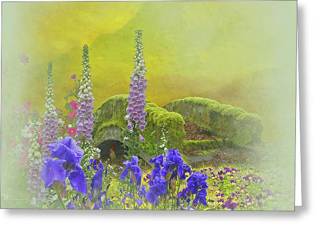 Garden Show Greeting Cards - Another Mythical Landscape Greeting Card by Jeff Burgess