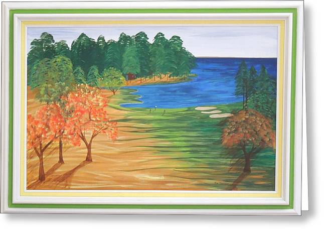 Artisan Made Greeting Cards - Another Sunday Morning Greeting Card by Ron Davidson