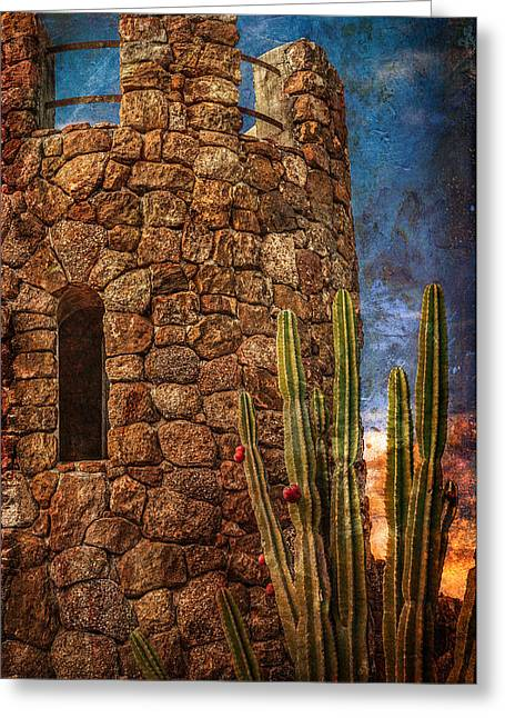 Russ Brown Greeting Cards - Another Time Another Place Greeting Card by Russ Brown