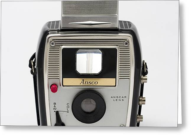 Aperture Greeting Cards - Ansco Cadet Reflex Greeting Card by Elena Bouvier
