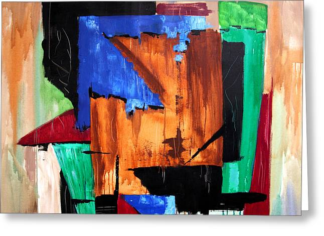 Abstract Greeting Cards Greeting Cards - Answered Prayer Greeting Card by Anthony Falbo