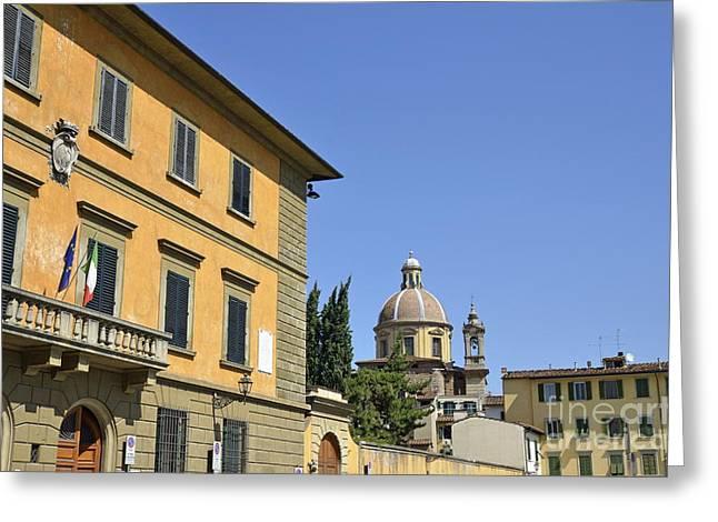 anta Maria del Carmine church Greeting Card by Sami Sarkis
